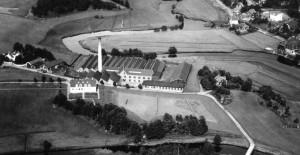 1929 Göta Kamgarn Viskan Ljungbergs Läderfabrik Kristineberg Gässlösavägen Druvefors Väveri Alvestabanan kv Silverpoppeln